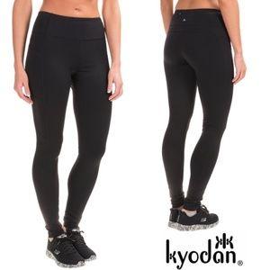 """NWT, Kyodan Mid-Rise Black Stretch Legging 27"""", L"""